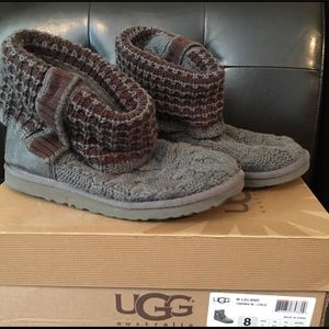 Sweater Boot- Ugg W Leland